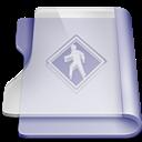 Public, Purple Icon
