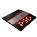 Files, Psd Icon