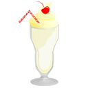 Milkshake, Vanilla Icon