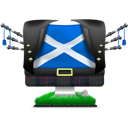 Big, Flag, Iscot Icon