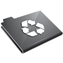 Grey, Recycle Icon