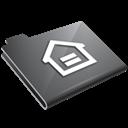 Grey, Home Icon