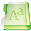 Font, Gr, Summer Icon