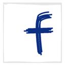 Facebook, White Icon