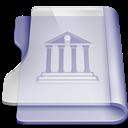Library, Purple Icon