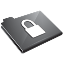 Grey, Locked Icon