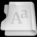 Aluminium, Font Icon