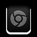 Chrome, File, Html Icon