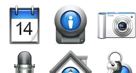 Mac OS X Style Icons