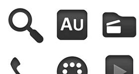 Token Dark Icons