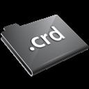 Crd, Grey Icon