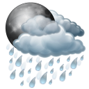 Night, Rain Icon