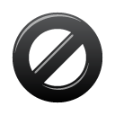Black, Block Icon