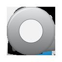 Button, Grey, Rec Icon