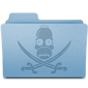 Folder, Pirate Icon