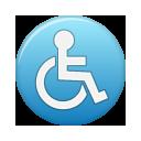 Access, Blue Icon