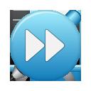 Blue, Button, Ffw Icon