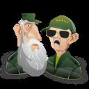 Castro, Fidel, Raul Icon