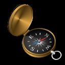 Compass, Gyro Icon