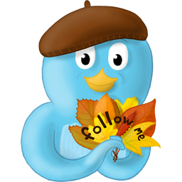 Fall, Follow, Leaves, Me Icon