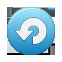 Blue, Button, Repeat Icon