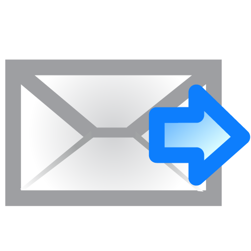 Envelope, Right Icon