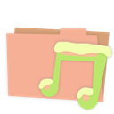 Carton, Folder, Music Icon
