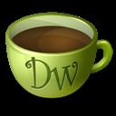 Coffee, Dreamweaver Icon