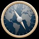 Blue, Safari Icon