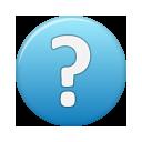 Blue, Help Icon