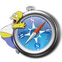 Safari, Simpsons Icon