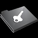 Grey, Key Icon