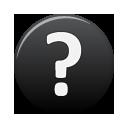 Black, Help Icon