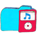 b, Folder, Ipod, Osd Icon