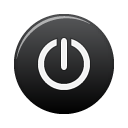 Black, Power Icon