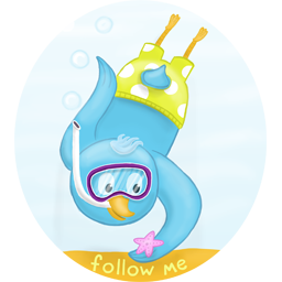 Diving, Follow, Me, Summer Icon