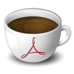 Acrobat Coffee Icon Download Free Icons
