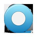 Blue, Button, Rec Icon