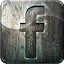 Engraved, Facebook, Grunge, Highlight, Media, Metal, Social Icon