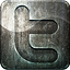 Engraved, Grunge, Highlight, Media, Metal, Social, Twitter Icon