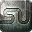 Engraved, Grunge, Highlight, Media, Metal, Social, Stumble Icon