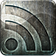 Engraved, Grunge, Highlight, Media, Metal, Rss, Social Icon