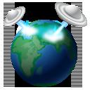 Earth, Globe, Invasion, Ufo, World Icon