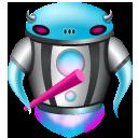 Alien, Beast, Robot Icon
