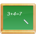 Black, Board, Calculate, Math, School, Tutorial Icon