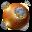 Mars, Planet Icon