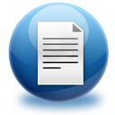 File, Text Icon
