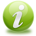 Green, Info Icon