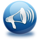 Announcement, Blog, Loudspeaker Icon