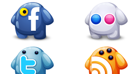 Social Creatures Icons